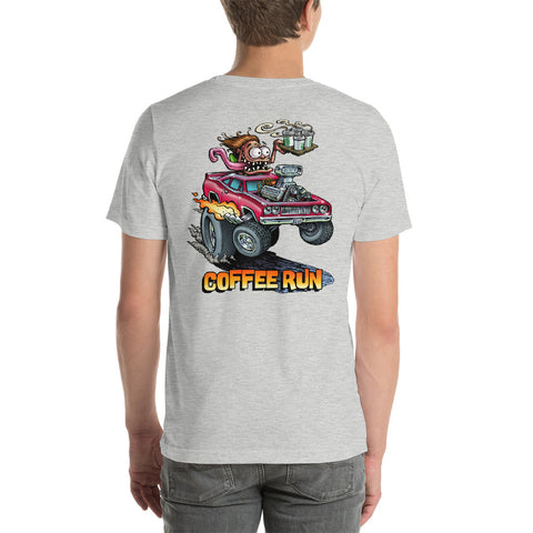 Coffee Run Short-Sleeve Unisex T-Shirt