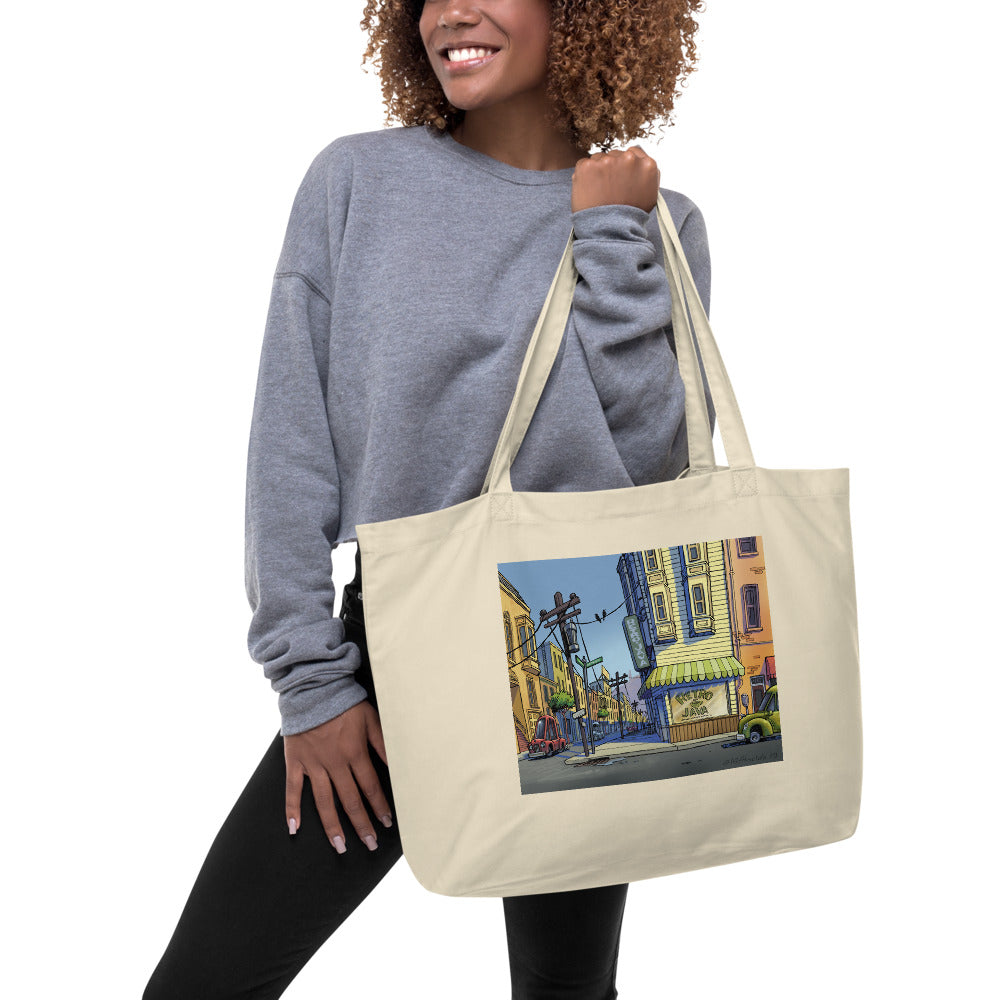 RJ Boutique Large organic tote bag