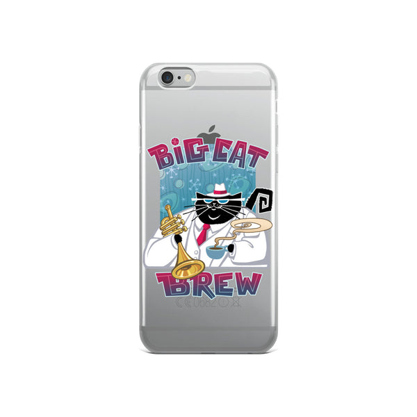 Big Cat Brew iPhone Case