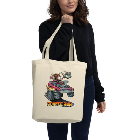 Coffee Run Eco Tote Bag