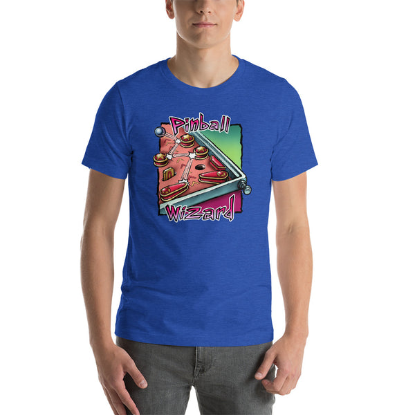 Pinball Wizard 2 Short-Sleeve Unisex T-Shirt
