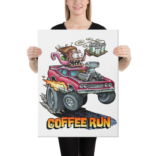 Coffee Run Canvas