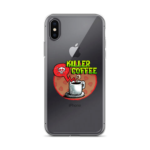 Killer Coffee iPhone Case