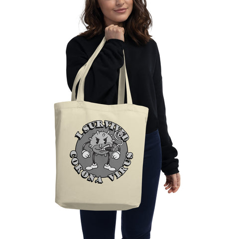 I Survived Corona Eco Tote Bag