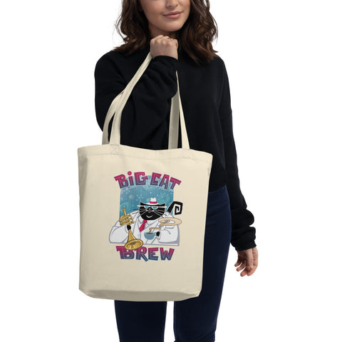 Big Cat Brew Eco Tote Bag