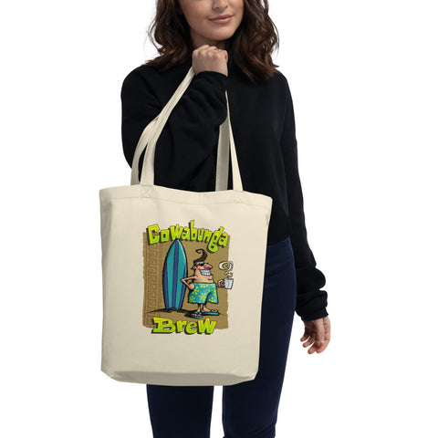 Cowabunga Brew Eco Tote Bag