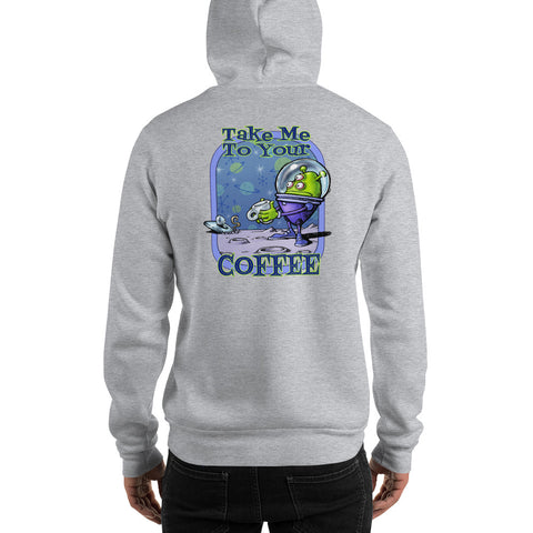 Green Alien Hooded Sweatshirt