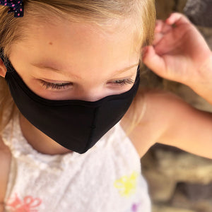 Smart Fiber Fabric Mask – Black (as low as €3,30 per mask)