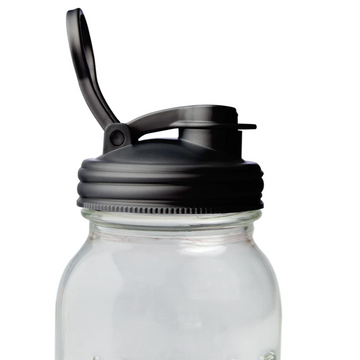 Mason Jar Pour Carry Lid