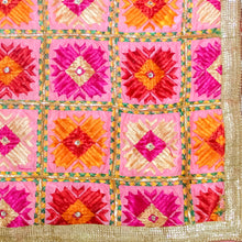 Load image into Gallery viewer, Phulkari embroidery by Mystic Loom // Phulkari Dupatta for every occassion