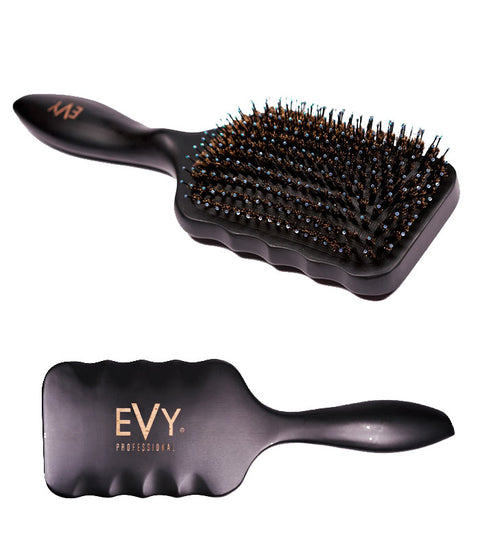 EVY Crystal Paddle Brush