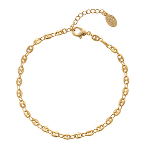 ARMBAND FULL OF CHAIN GOLD