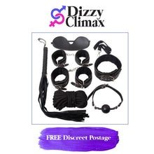 Load image into Gallery viewer, 10 piece Bondage Kit with Fetish Toys in Purple