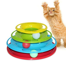 Load image into Gallery viewer, Three Levels Pet Cat Interactive Toy