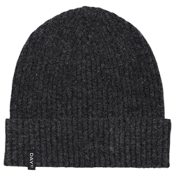 Rib Knit Hat Forged Iron Grey
