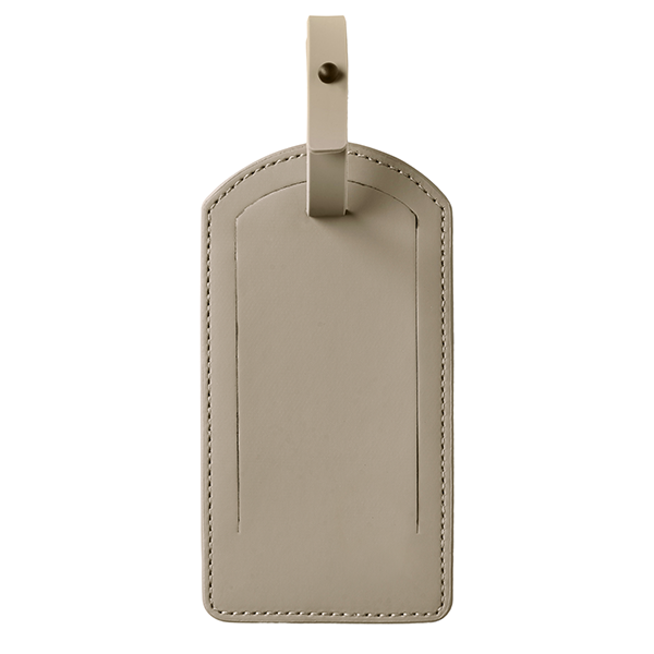 Travel Tag Taupe
