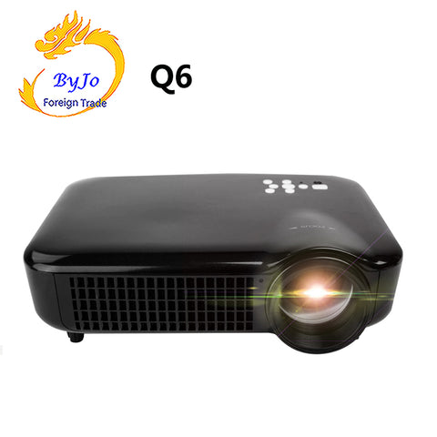 2019 NEW ByJoTeCH Q6 5000 lumens  Full 1080P 4K  Android Projector  USB HDMI