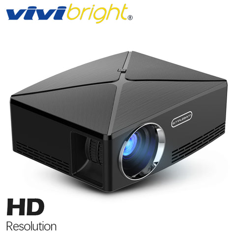 VIVIBright  WIFI Projector C80 UP. 1280x720. Android 6.0, WIFI, Bluetooth, Smart Video LED Projector,Support 4K Online Video