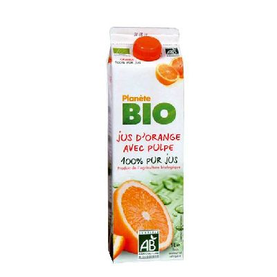 JUS ORANGE AVEC PULPE 1L