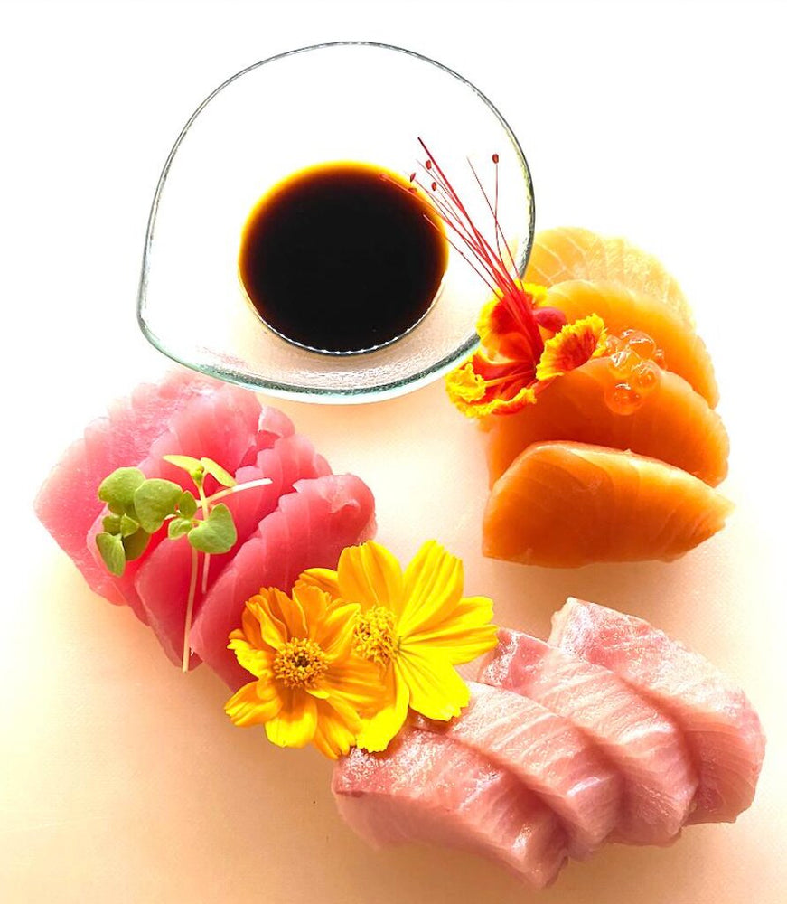 SASHIMI MIX (12 PIECES)