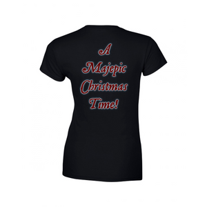 Majestica Christmas Logo LADIES T-shirt