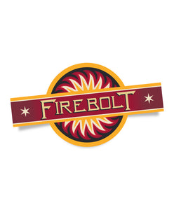 Firebolt Kiss-Cut Sticker