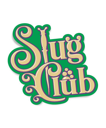 Slug Club Kiss-Cut Sticker