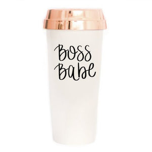 Boss Babe Travel Mug || 16 oz