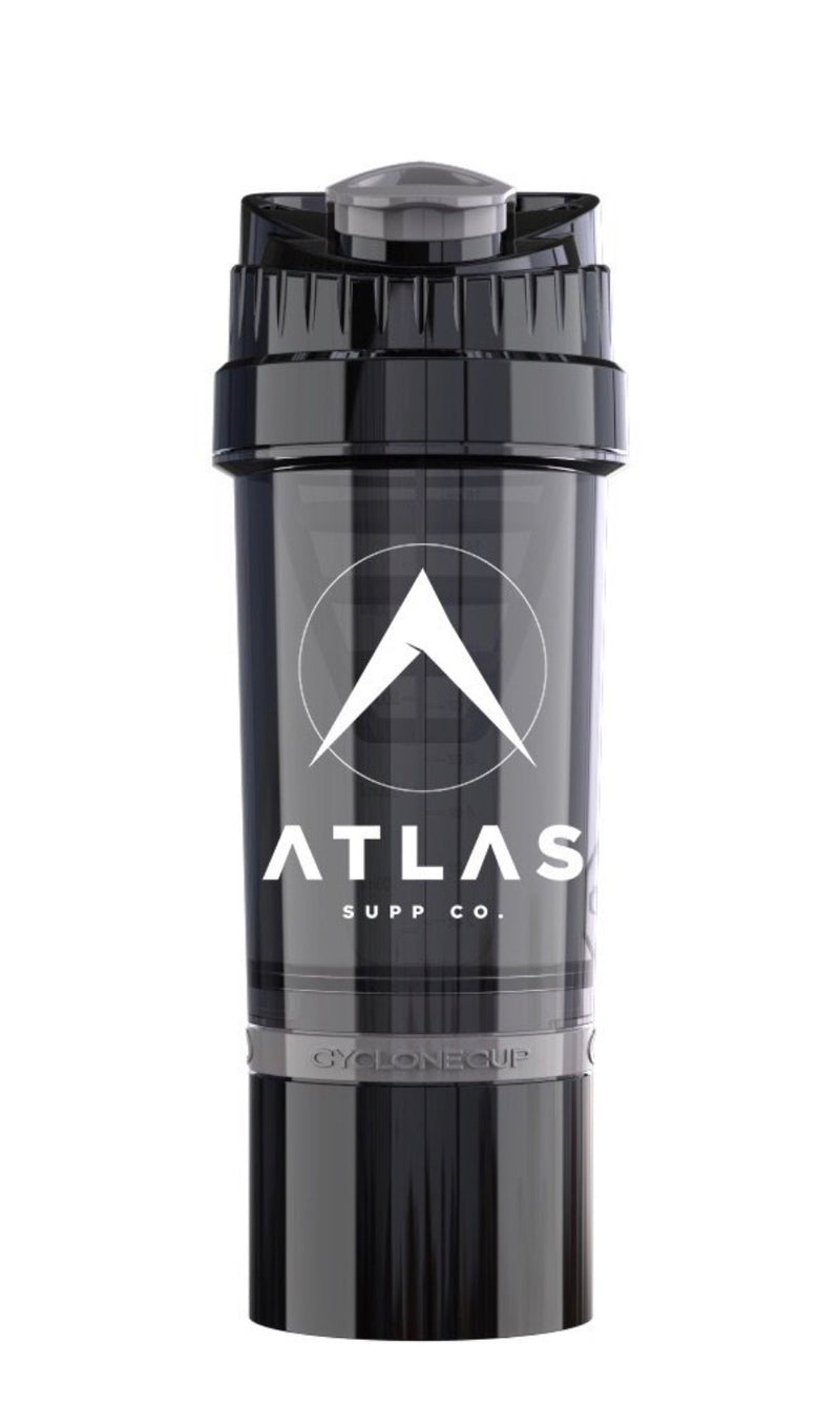 Atlas Supp Co. Shaker Bottle