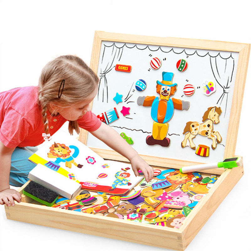 Noony Preschool- Wooden Magnetic Puzzle