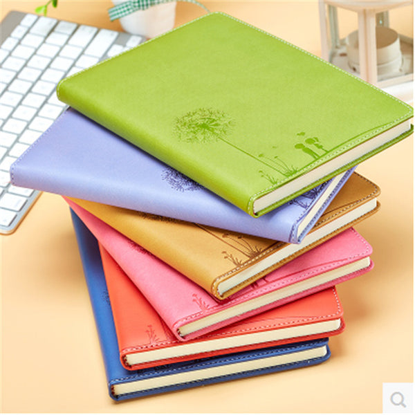 PU leather notebooks, office leaflet Notepad