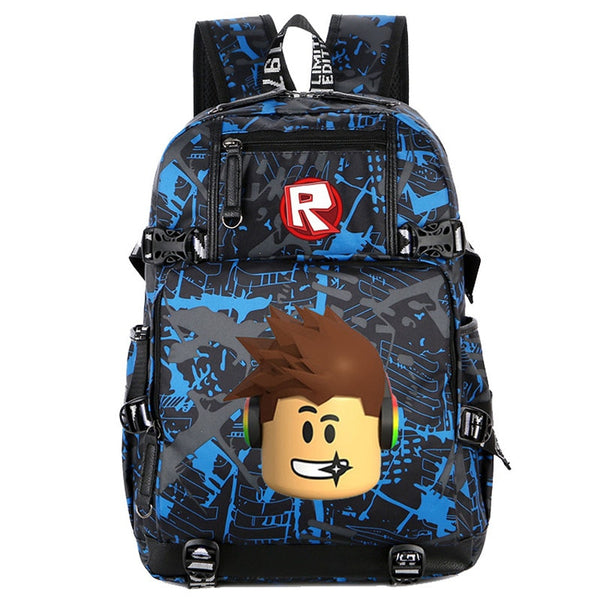 Recede Ralph Backpack Large Teenager High School Backpack for Boys
