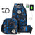 GREAT VALUE! 3pcs/set USB Male backpacks high school bags
