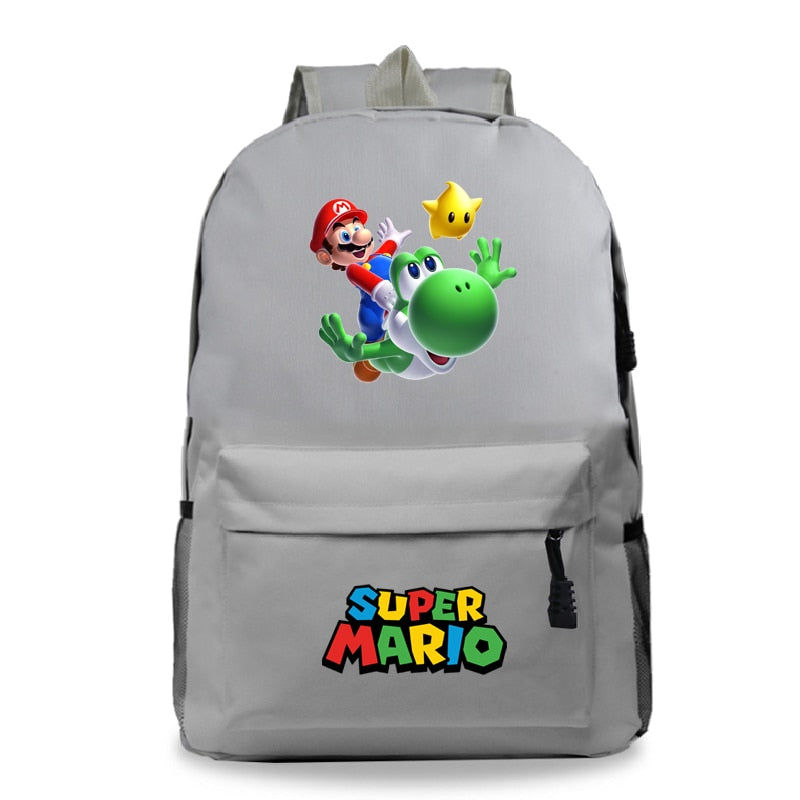 Mochila Laptop Super Mario Backpack