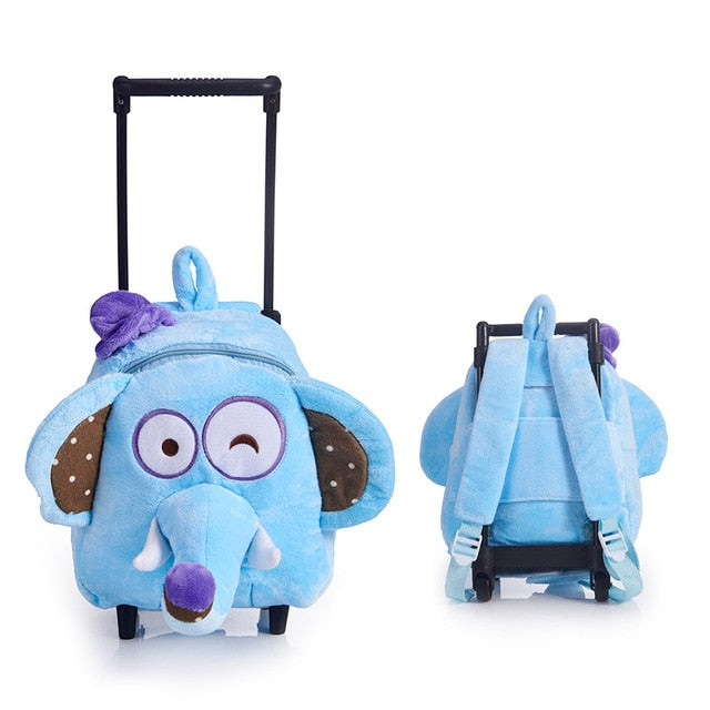 Kids  kindergarten Boys And Girls Daily Trolley Bag