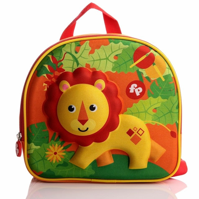 Fisher Price Lion Figured Eva Baby Backpack