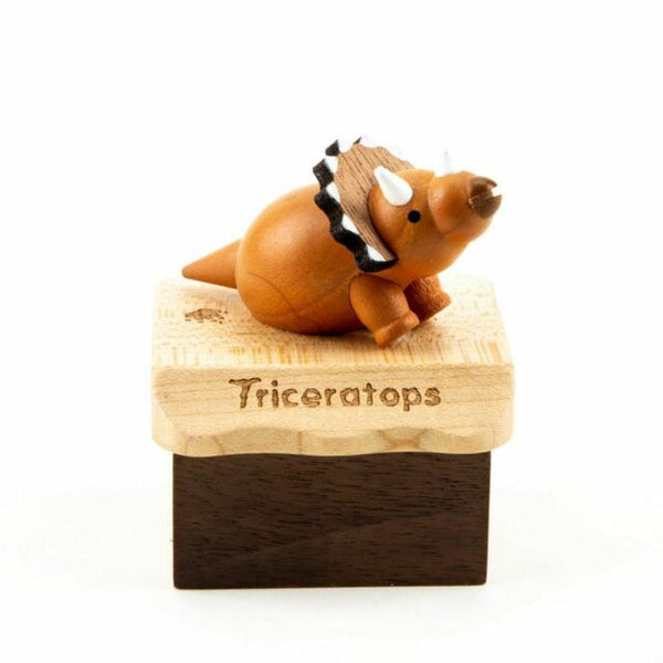 Triceratops Musical Box