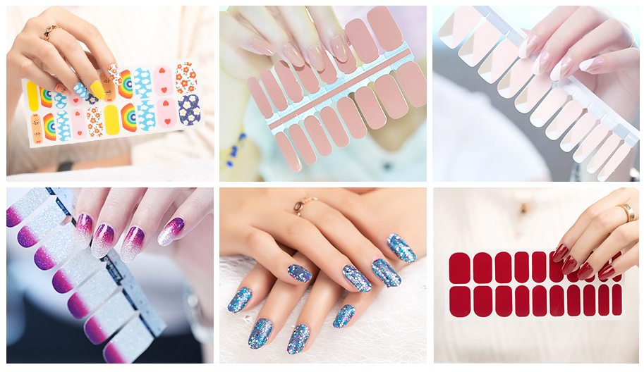 Captured Styl Nail Wrap Collection