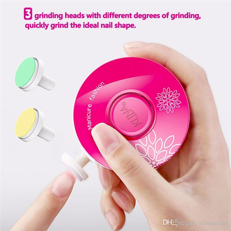 Mini Nail Clipper Tool - Gently Trims and Polishes Nails