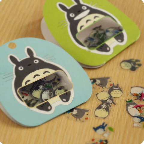 Stickers Totoro<br> Mini - Passion Ghibli