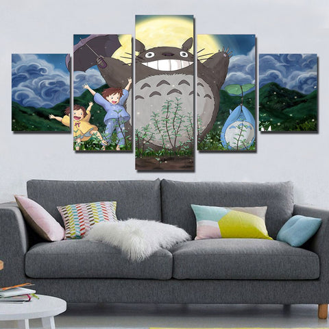 Tableau Totoro</br> Forêt - Passion Ghibli