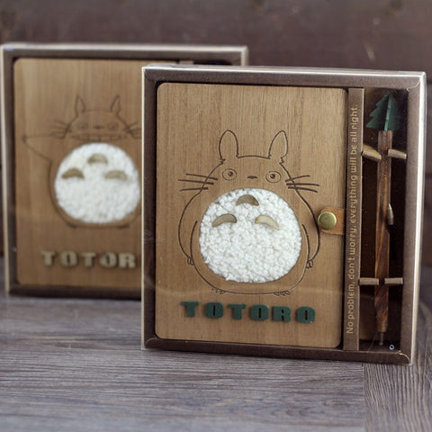 Cahier Totoro<br> Doux - Passion Ghibli