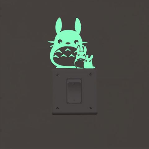Stickers Totoro<br> Phosphorescent - Passion Ghibli