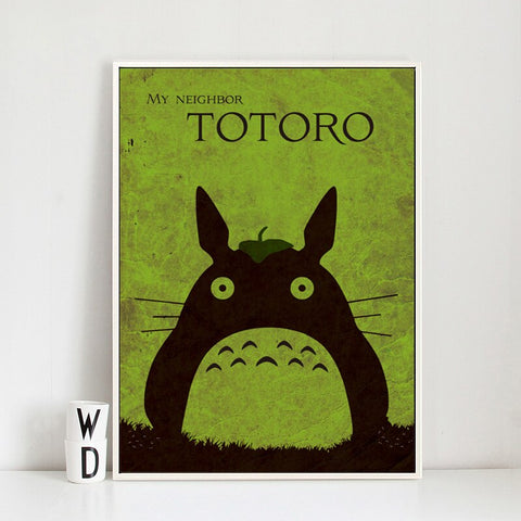 Poster Totoro<br> Graphique - Passion Ghibli