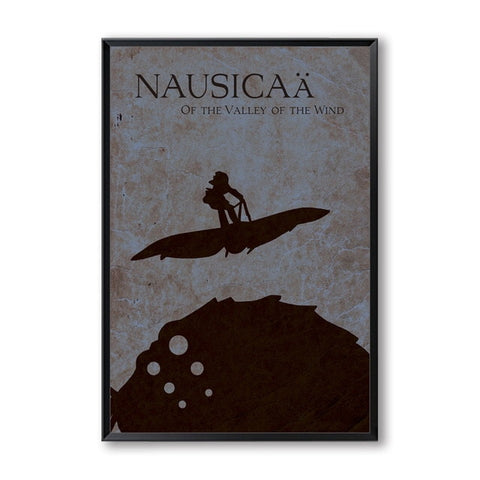 Poster Nausicäa<br> Graphique - Passion Ghibli