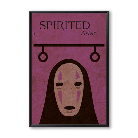 Poster Chihiro<br> Kaonashi Graphique - Passion Ghibli