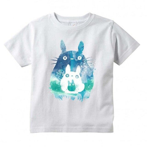 T-Shirt Enfant Totoro</br> Abstract
