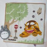 Serviette Totoro<br> Chat Bus - Passion Ghibli