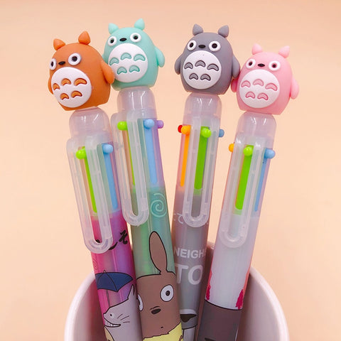 Stylo Totoro<br> Bic 4 Couleurs - Passion Ghibli