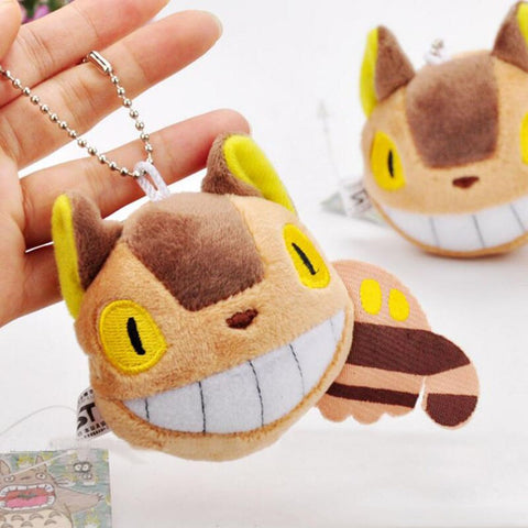 Porte-clef Totoro<br> Chat Bus - Passion Ghibli